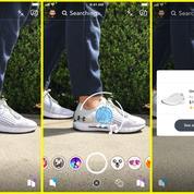 Sur Snapchat, on pourra bientôt prendre en photo un objet pour l'acheter