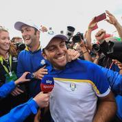 Francesco Molinari acclamé en héros de la Ryder Cup à la gare de Paris-Nord