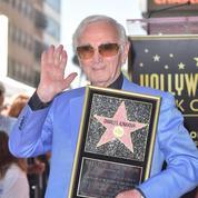 Charles Aznavour, un exemple inédit de réussite française aux États-Unis