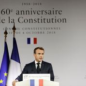 Macron : «La réforme constitutionnelle reviendra devant l'Assemblée début janvier»
