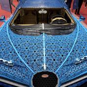 Lego reproduit un modèle de Bugatti... grandeur nature