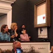 Banksy chez Sotheby's : un coup de maestro qui fait l'effet d'une petite révolution