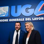 Avec Matteo Salvini, Marine Le Pen se rêve en alternative en Europe