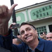 Présidentielle au Brésil : Bolsonaro tutoie une victoire au premier tour