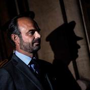 Édouard Philippe et la casquette du «premier flic de France»