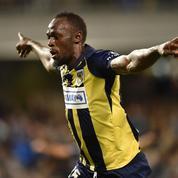 En Australie, Usain Bolt flambe et marque un doublé avec son équipe