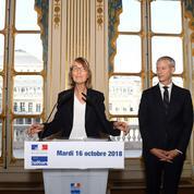 «Je pars telle que je suis entrée», Françoise Nyssen cède la place à Franck Riester