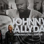 Tomber encore ,le titre écrit par un fan n'élève pas le niveau de l'album posthume de Johnny