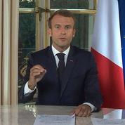 Emmanuel Macron, un président à étiquettes…