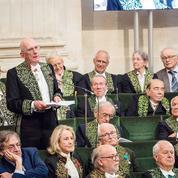 Académie française : l'éblouissant éloge du philosophe René Girard par Michel Zink