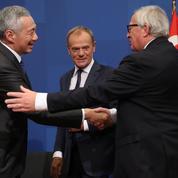 L'Europe signe un accord de libre-échange avec Singapour