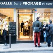 Pigalle Fromage Club, saké et frometon