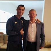 Le bel hommage de Cristiano Ronaldo au «boss» Alex Ferguson