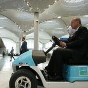 Erdogan inaugure «Istanbul», le futur plus grand aéroport du monde