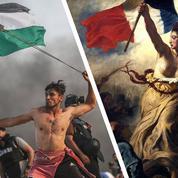 Gaza : la photo d'un Palestinien comparée à une œuvre de Delacroix