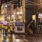 Effondrement d'un immeuble dans le centre-ville de Charleville-Mézières