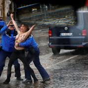 11-Novembre à Paris : trois Femen déjouent la sécurité