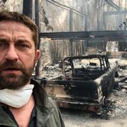 Californie: les maisons de Gerard Butler et Miley Cyrus détruites par les incendies