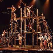 À Paris, le cirque Éloize ouvre son «Saloon»