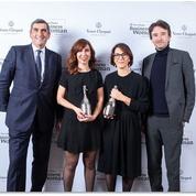 Nathalie Balla reçoit le prix VeuveClicquot de la femme d'affaires