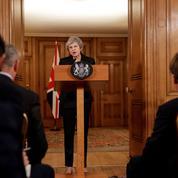 Brexit : face à la rébellion contre son projet d'accord, quelles options pour Theresa May ?