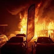 La Californie prise dans l'enfer du feu