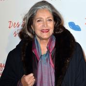 Françoise Fabian, chanteuse, au Théâtre de l'Athénée-Louis-Jouvet