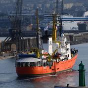 Le bateau humanitaire Aquarius mis sous séquestre