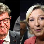 Journalistes agressés par des «gilets jaunes» : Le Pen défend les médias, pas Mélenchon