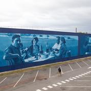 Une gigantesque fresque de street art à Rungis