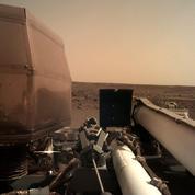 Le premier selfie de l'atterrisseur franco-américain Insight à la surface de Mars