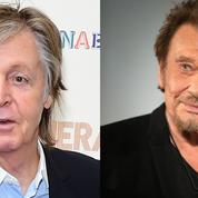 Paul McCartney s'est recueilli sur la tombe de Johnny Hallyday, «un chouette type»