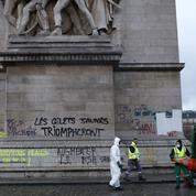 Arc de Triomphe : les dégâts se chiffrent à «plusieurs centaines de milliers d'euros»
