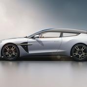 Aston Martin Vanquish Zagato Shooting Brake, le quatrième élément
