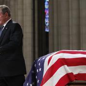 Aux obsèques de George H.W. Bush, l'éloge d'un fils
