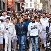 Perpignan : des centaines de personnes à la marche blanche en mémoire à Barend Britz