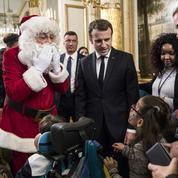 Emmanuel et Brigitte Macron délocalisent le «Noël de l'Élysée» à la Manufacture des Gobelins
