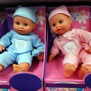 À l'approche de Noël, les jouets sont toujours roses pour les filles et bleus pour les garçons