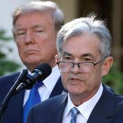 La foudre de Trump s'abat sur le patron de la Fed