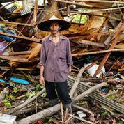 Tsunami en Indonésie : les images des dégâts et du chaos