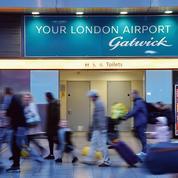 Vinci se pose à l'aéroport londonien de Gatwick