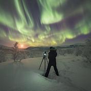 En Laponie, dans les pas des chasseurs d'aurores boréales