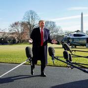 «Shutdown»: Donald Trump prend l'Amérique à témoin