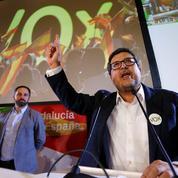 Un complexe attelage de droite à la tête de l'Andalousie