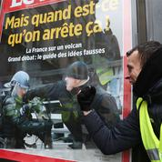 «Gilets jaunes» : «un cap a été franchi» dans les violences envers les journalistes