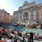La mairie de Rome et l'Église catholique s'affrontent sur les pièces de la fontaine de Trevi