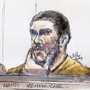 Procès Nemmouche : l'accusé refuse de parler, ses avocats demandent son acquittement