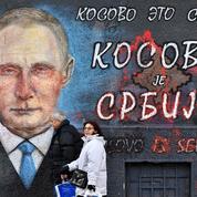 Poutine à Belgrade aux côtés de Vucic