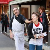 Restaurant, épicerie, boutique de prêt-à-porter : des vegan vandalisent des vitrines à Lille