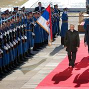 Belgrade déroule le tapis rouge à Poutine